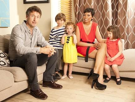 גי'ם קיבל ומשפחתו (צילום: צילום מסך daily mail)
