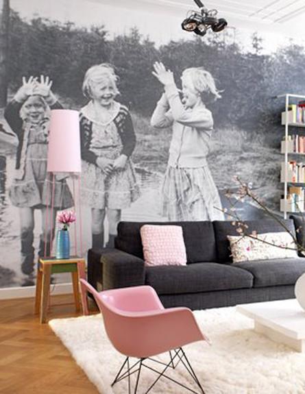 תמונות טפט (צילום: מתוך האתר: apartmenttherapy.com)