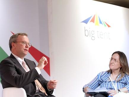 """יו""""ר גוגל, אריק שמידט בישראל, יוני 2012"""