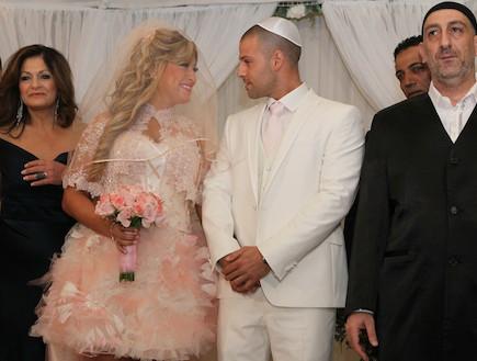 ליהיא גרינר החתונה החופה (צילום: ראובן שניידר )