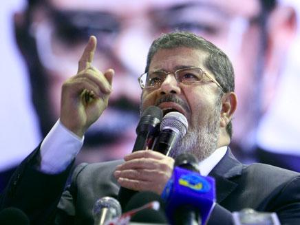 מוחמד מורסי  ,נשיא מצרים (צילום: AP)