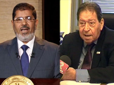 """ח""""כ פואד בן אליעזר בריאיון בעקבות נצחונו של מורסי (צילום: חדשות 2 , AP)"""