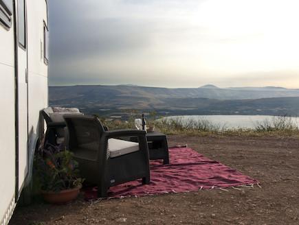 לנוף הכנרת (צילום: דרור ורשבסקי)