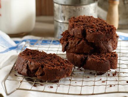 עוגת שוקולד בננה (צילום: דניה ויינר, מתכוניישן)