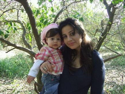 לילך ברמלי ובתה נועה (צילום: תומר ושחר צלמים)