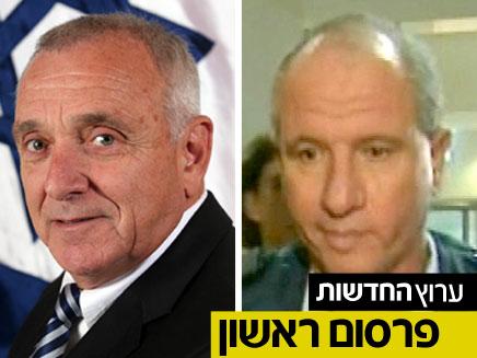 זאב אבן חן והשר אהרונוביץ' (צילום: חדשות 2)