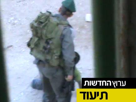 """צפו בתיעוד """"בצלם"""" מחברון (צילום: חדשות 2)"""