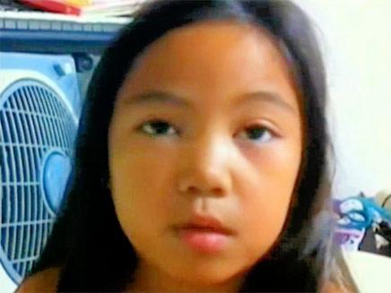 למרות שנולדה בישראל, איי ג'יי תגורש לפיליפינים (צילום: חדשות 2)