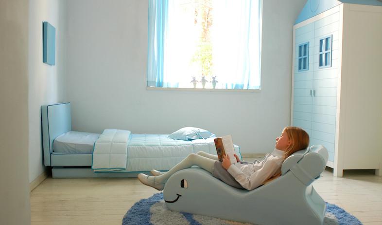"""חדר ילדים תכלכל (צילום: יח""""צ שרית שני חי)"""