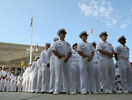 הצי האמריקאי (צילום: Mark Wilson, GettyImages IL)