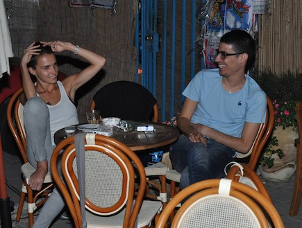 קותי סבג ויאנה יוסף ביחד, יולי 2012 (צילום: צ'ינו פפראצי)
