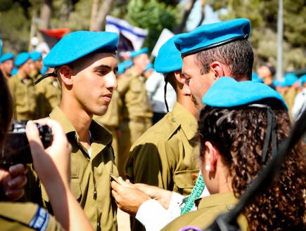 """עומר בורגר (צילום: דובר צה""""ל)"""