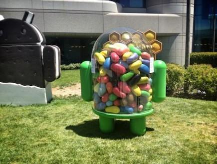 פסל סוכריית הג'לי של גוגל