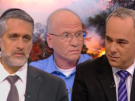 זאב אבן-חן נגד שטייניץ וישי (צילום: חדשות 2)