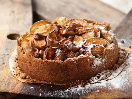 עוגת תפוחים, טעימא (צילום: בני גם זו לטובה, אוכל טוב)