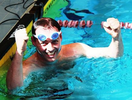 יוחנן פלסנר שוחה
