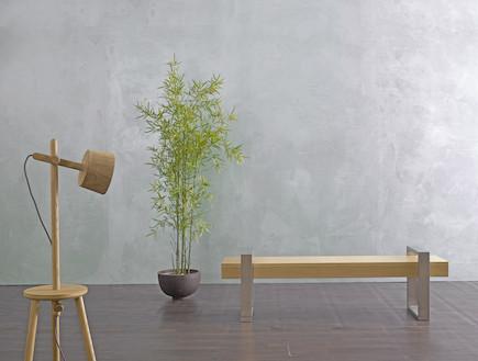 נירלט, דוגמה לשימוש בצבע דקורטיבי - אפקט הקטיפה.