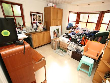 חדר שינה לפני שיפוץ