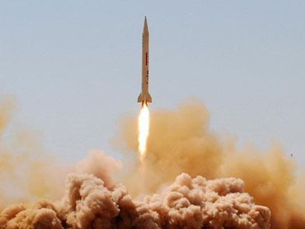שיגור טילים בסוריה, ארכיון (צילום: חדשות 2)