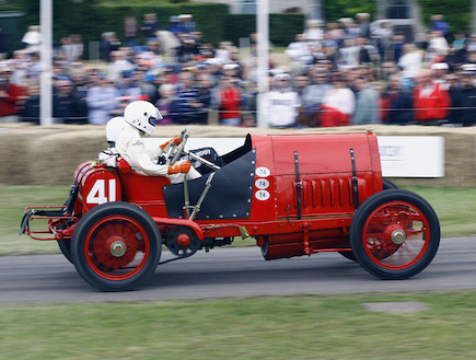 פסטיבל המהירות של גודווד (צילום: נעם וינד)