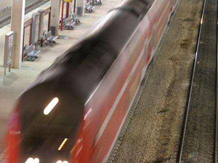 הרכבת בימים טובים יותר, ארכיון (צילום: חדשות 2)