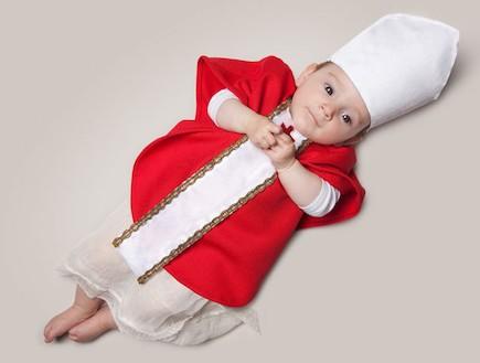 פרויקט צילום כשאהיה גדול - אפיפיור (צילום: Malo / Barcroft USA)