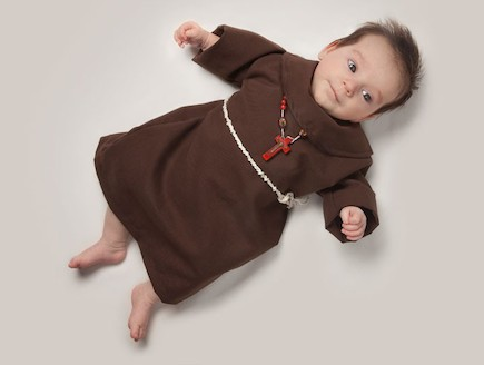 פרויקט צילום כשאהיה גדול - נזיר (צילום: Malo / Barcroft USA)