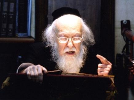 הרב אלישיב (צילום: חדשות 2)