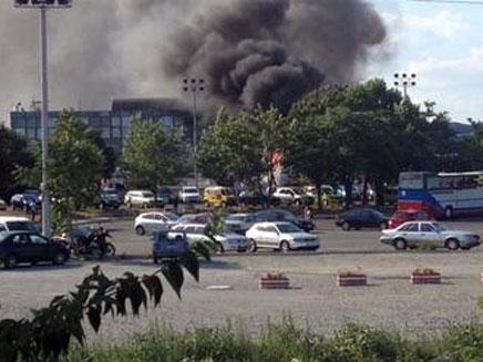 הפיגוע בבורגס, יולי 2012 (צילום: חדשות 2)