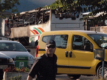 פיגוע ההתאבדות בבורגס (צילום: רויטרס)