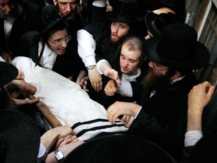 הלווית הרב אלישיב (צילום: רויטרס)