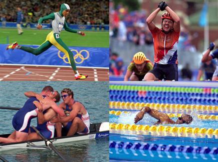 המשחקים של הספורטאים (צילום: ספורט 5)