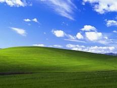 תמונת הרקע של ווינדוס XP (קרדיט: מיקרוסופט)