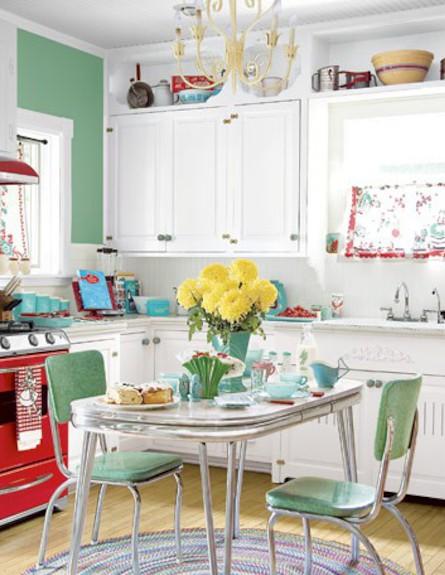 שילובים של ירוק במטבח (צילום: מתוך: decortoadore.com)