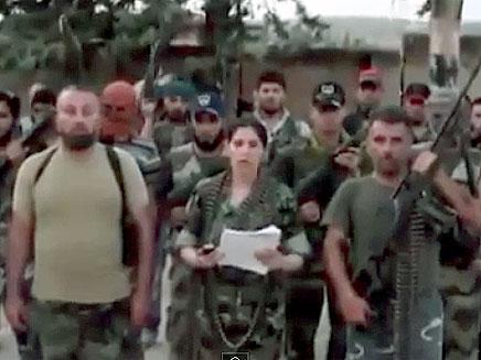 המורדים השתלטו על גבולות (צילום: YOUTUBE)