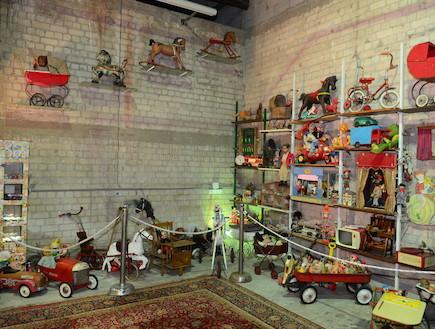 בית ההבראה לצעצועים של בני ירוחם (צילום: חיים יפים בכבלט)