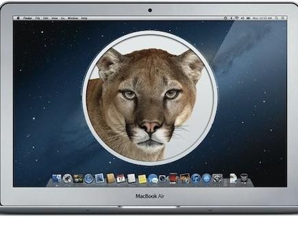 מערכת ההפעלה למק Mountain Lion