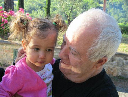 אלה עם סבא (צילום: תומר ושחר צלמים)