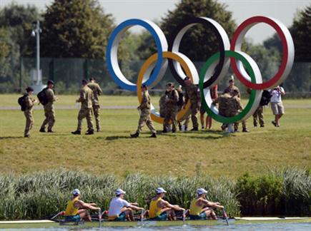 הכל כבר מוכן. לונדון 2012 (gettyimages) צפו בדיווח מהכפר האולימפי (צילום: ספורט 5)