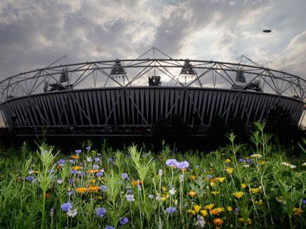האירוע הגדול בעולם. האצטדיון האולימפי (צילום: AP)