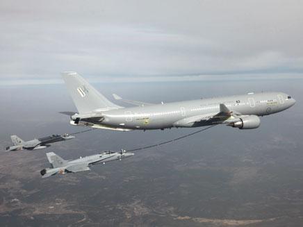 מטוסי תדלוק אווירי. צילום אילוסטרציה (צילום: רויטרס)