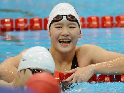 יה שיוואן, שיאנית עולם בכיתה י' (צילום: AP)