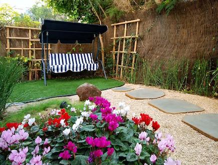 גינות בתל אביב, הגינה של וליקסון (צילום: מושי גיטליס)
