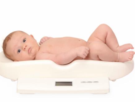 תינוק על משקל (צילום: אימג'בנק / Thinkstock)