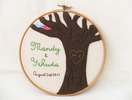 חישוק עץ האוהבים (צילום: מתוך האתר של מרמלדה מרקט)