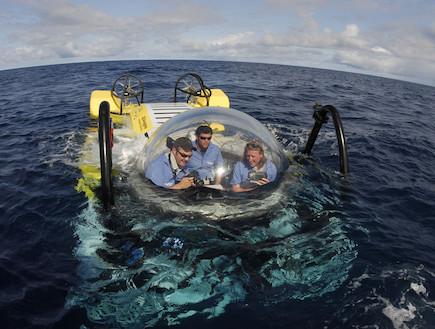 צלילה זוגית באיי קוקוס