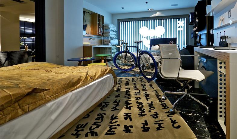 חדר שגדל עם הילד (צילום: איתי סיקולסקי)
