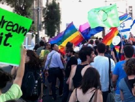 מצעד הגאווה בירושלים 2011 (צילום: דני זאק)