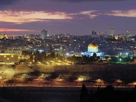 ירושלים בערב (צילום: גלובס)