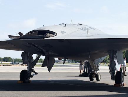 X-47B (צילום: wired)
